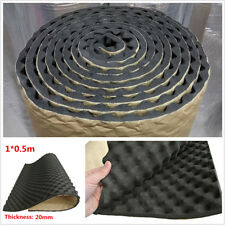 100cmx50cm 20mm Acoustic Foam Car Deadening Proofing Hood Sound Shield Absorber