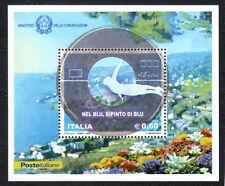 Italia Repubblica 2008 Foglietto Nel blu dipinto di blu MNH**