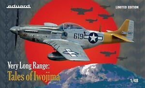 Eduard 11142 1/48 P-51D Mustang Very Long Range : Tales of Iwojima Model Kit