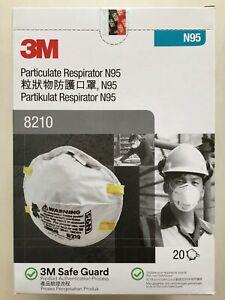 NEW Genuine 3M EXP: 03/2025 Box of 20 pieces N Grade 95 95N