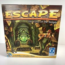 Escape: the Curse of the Temple Board Game 100% complete Excellent condition