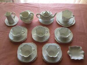 SHELLEY  fine bone China 26 piece tea set, Rd 272101