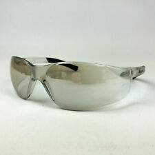 Safety Glasses Indoor Outdoor Clear Mirror Lens Narrow MCR Safety BK219 Bearkat