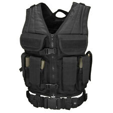 NEW CONDOR ETV: Elite Tactical Vest with Mag Pouch and Tactical Belt BLACK