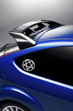 2X Heartagram HIM band car stickers/decals VINYL all colours available.