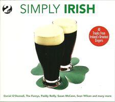SIMPLY IRISH - 2 CD BOX SET - DANIEL O'DONNELL, THE FURYS & MANY MORE