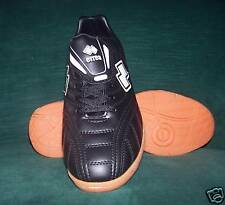 Errea Spinner Futsal (Indoor) Shoe, Black with rubber sole, Adult UK size 3, New