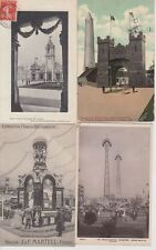 FRANCO-EXPOSITION LONDON 78 Cartes Postales 1908