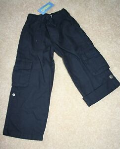 NWT GYMBOREE Spring Car Classic Navy Roll Up Pants~4