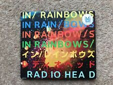 Radiohead - In Rainbows - Japanese CD with booklets