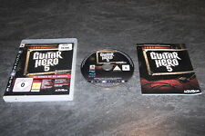 JEU PS3 GUITAR HERO 5 COMPLET ACTIVISION OCCASION