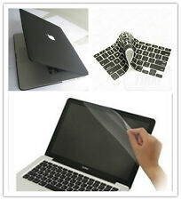 3in1 For 2012 Macbook Pro 15'' Retina Display Black Rubberized Hard Case Cover