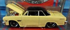 MAISTO 65 1965 CHEVROLET CHEVY MALIBU SS PRO RODZ AUTH COLLECTIBLE CAR CRM YLOW