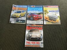 Bimmer Magazine BMW Lot of 4 Miscellaneous Issues 2001-2007 M3 M6 Coupe