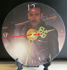 Brand New The Walking Dead Negan and Lucille CD Clock Horror Zombies Nice!!