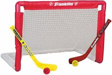 Franklin Sports Indoor Outdoor Youth Mini Hockey Goal Stick Set Durable For Kids