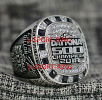 NASCAR 60th Annual 2018 DAYTONA 500 Championship Ring 8-14Size Austin Dillon