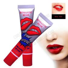 Romantic Waterproof Lipstick Peel off Lip Tint Gloss Mask Long Lasting Wniu Red