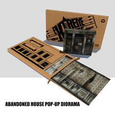 Extreme Sets Abandoned house Pop-Up Diorama for 6 & 7 inch action figures NEW!