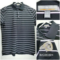 Peter Millar Summer Comfort Mens Large Golf Shirt Polo Bighorn Golf Club