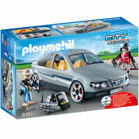 PLAYMOBIL 9361 City Action SWAT Undercover Car & Removeable Flashing Blue Light