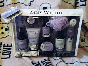 Zen Within Lavender Bath Gift Set NWT