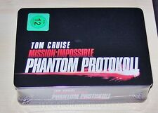 MISSION: IMPOSSIBLE PHANTOM PROTOCOL COLLECTOR´S STEELBOOK / ZIPPO BLU RAY NEU