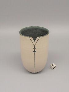 Louise Darby Studio Pottery Porcelain Vase