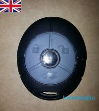 3 Button Remote Key Fob Case Shell Rubber Button Pad For MG Rover 25 35 ZT ZR ZS