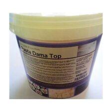 Pasta di Zucchero DAMA TOP IRCA Fondente 5kg Bianca Copertura Modellaggio