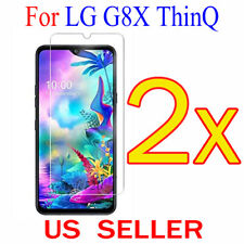 """2x Clear LCD Screen Protector Guard Cover Shield Film For LG G8X ThinQ  6.4"""""""