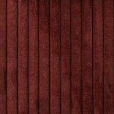 Duralee Super Soft Plush Crimson Red Corduroy Upholstery Fabric 26 yds 36164-366