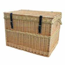 Extra Large Wicker chest stroage trunk toy box
