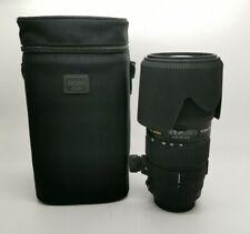 SIGMA EX DG 70-200mm 1:2.8 II APO Macro HSM Zoom Lens for Canon - Caps Hood Bag