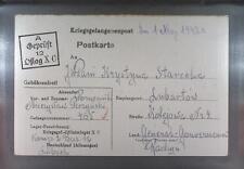 Camp Oflag XC Lübeck 1942 POW Prisoner of War Kriegsgefangenenpost (K12)