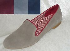 0c40764a746 jcp Womens Shoes Slip On Hue Suede Smoking Flats Solid size 6.5 7 7.5 NEW