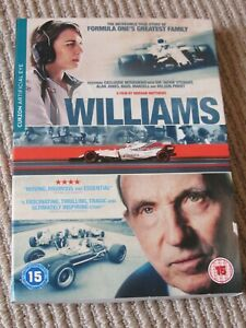Williams - The Story of Formula One's Greatest Family DVD - LIKE NEW