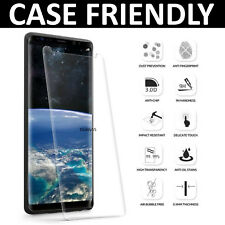 Clear Full Curved 3D Tempered Glass Screen Protector For Samsung Galaxy Note 9