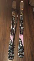 K2 Missdemeanor 167cm Twin-Tip Freestyle Women's Skis and Leki Trekking Poles