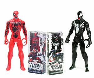"Marvel Super Hero Venom Carnage 12"" PVC Action Figure Model Display Toy Gift"