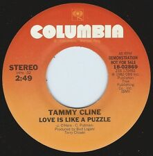 TAMMY CLINE Love Is Like A Puzzle ((**NEW UNPLAYED 45 DJ**)) from 1982