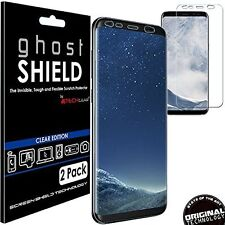Samsung Galaxy S8 Plus Full Coverage Screen Protector Durable Protective Film X2