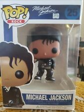 Funko Pop! Rock Michael Jackson Bad #25; Collectable Figure (Replica)