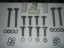 Stainless Bumper Bolt Set for MK1/MK2  Escort With Spacers (8 short 4 Long)