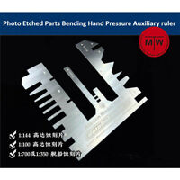 TMW Tanks Ships Photo Etched Parts Bending Tool Hand Pressure Auxiliary Ruler