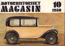 Motorhistoriskt Magasin Swedish Car Magazine 10 1980 Austin Martin 032717nonDBE