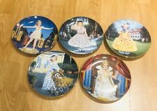 Lot Of (5) The Danbury Mint Shirley Temple Plates (5) Signature matching plate #