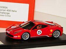 FERRARI 458 ITALIA CHALLENGE ROSSO CORSA / RED LOOKSMART LS385A 1/43