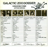 Arthur Brown's Kingdom Come : Galactic Zoo Dossier CD (2010) ***NEW***