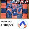 1000Pcs Foam Refill Bullet Darts for Nerf Elite Series Blasters Kids Gun Toy Fun